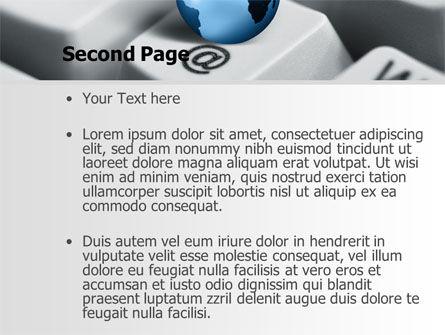 World eCommerce PowerPoint Template, Slide 2, 10146, Business Concepts — PoweredTemplate.com