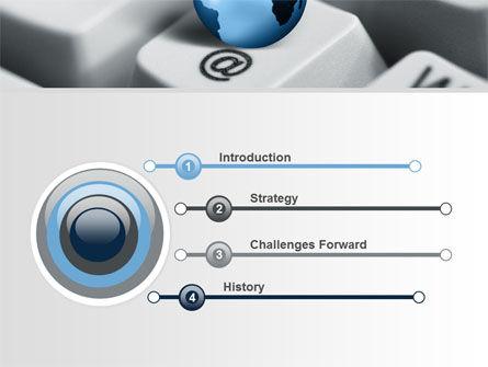 World eCommerce PowerPoint Template, Slide 3, 10146, Business Concepts — PoweredTemplate.com