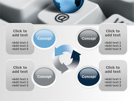 World eCommerce PowerPoint Template Slide 9