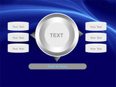 Blue Waves PowerPoint Template#12