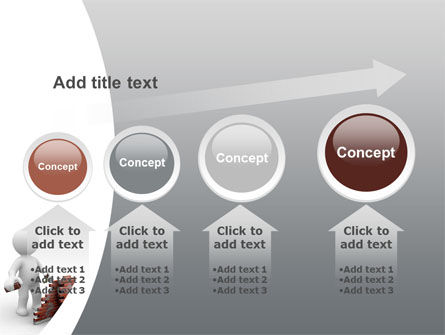 Building a Wall PowerPoint Template Slide 13