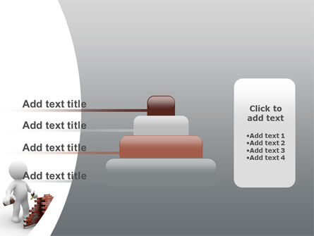Building a Wall PowerPoint Template Slide 8