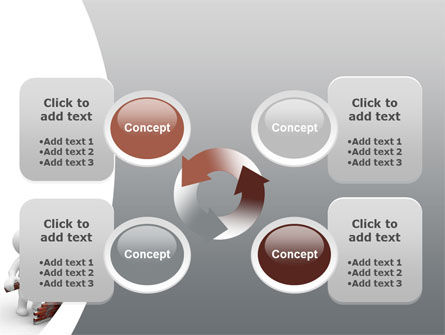 Building a Wall PowerPoint Template Slide 9