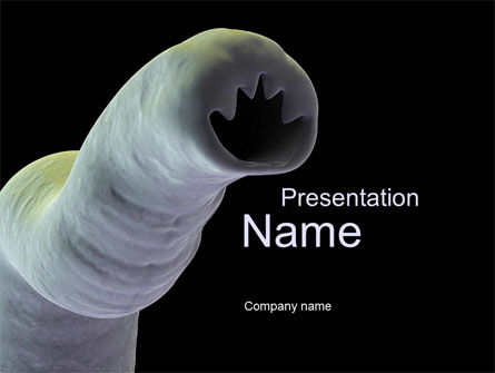 Medical: Parasite PowerPoint Template #10152
