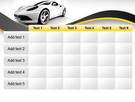 Roadster PowerPoint Template Slide 15