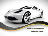 Careers/Industry: Roadster PowerPoint Template #10153