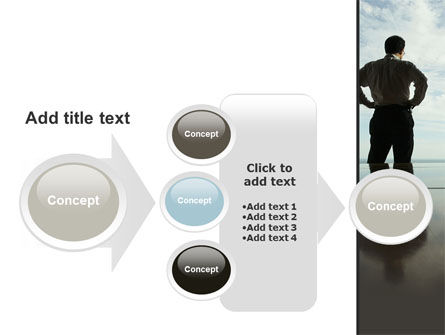 Thinking of Future PowerPoint Template Slide 17