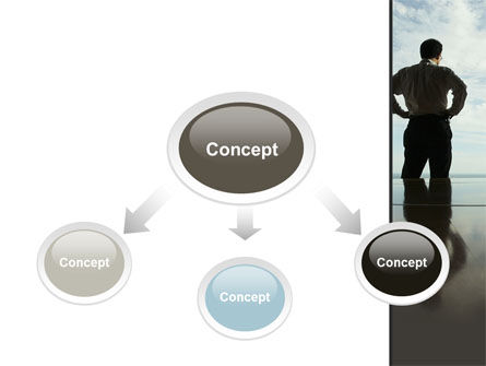 Thinking of Future PowerPoint Template, Slide 4, 10154, Business Concepts — PoweredTemplate.com
