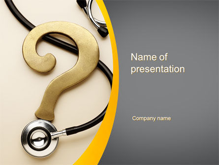 Medical: Diagnosis PowerPoint Template #10157