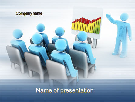 Business: Project Presentation PowerPoint Template #10158