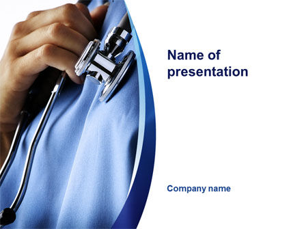 Doctor PowerPoint Template, 10161, Medical — PoweredTemplate.com