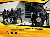 Military: Release of Hostages PowerPoint Template #10163