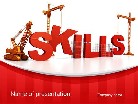 Building Skills PowerPoint Template