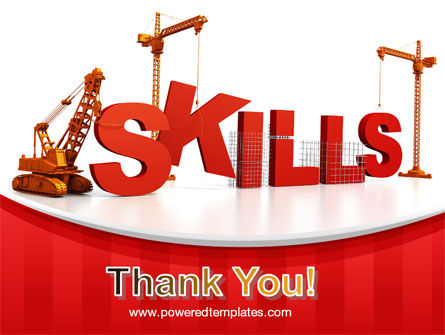 Building Skills PowerPoint Template Slide 20