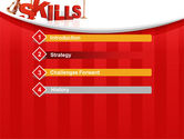 Building Skills PowerPoint Template#3