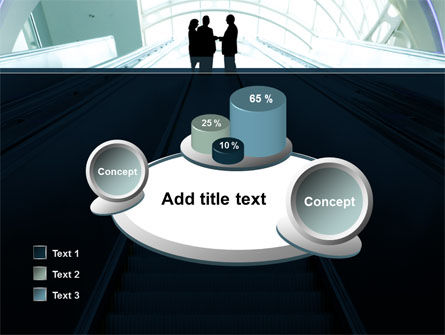Moving Staircase PowerPoint Template Slide 16
