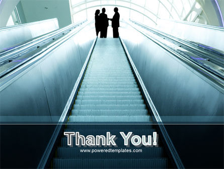 Moving Staircase PowerPoint Template Slide 20