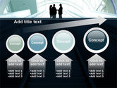 Moving Staircase PowerPoint Template#13