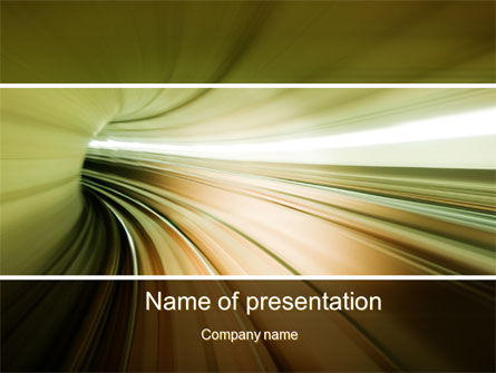 Velocity PowerPoint Template, 10169, Abstract/Textures — PoweredTemplate.com