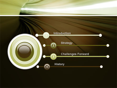 Velocity PowerPoint Template, Slide 3, 10169, Abstract/Textures — PoweredTemplate.com