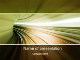 Abstract/Textures: Velocity PowerPoint Template #10169