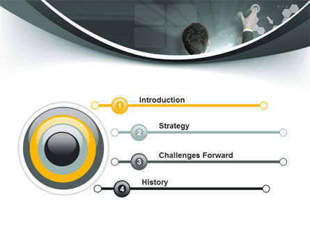 Moving the Future PowerPoint Template, Slide 3, 10172, Technology and Science — PoweredTemplate.com