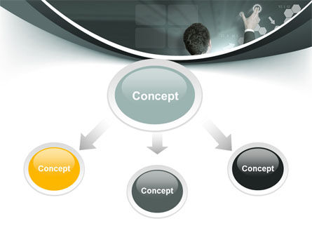 Moving the Future PowerPoint Template, Slide 4, 10172, Technology and Science — PoweredTemplate.com
