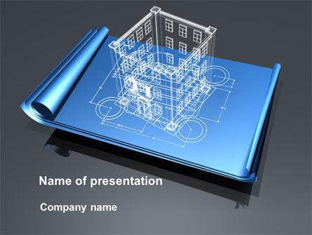 Construction: Architect Project PowerPoint Template #10176