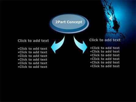 Diver PowerPoint Template, Slide 4, 10179, Sports — PoweredTemplate.com