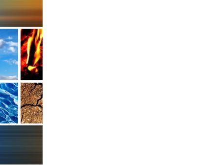 Four Elements PowerPoint Template, Slide 3, 10180, Nature & Environment — PoweredTemplate.com