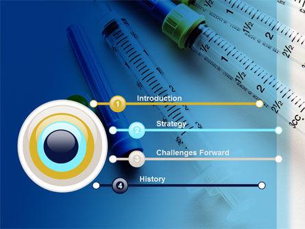 Syringes PowerPoint Template, Slide 3, 10181, Medical — PoweredTemplate.com