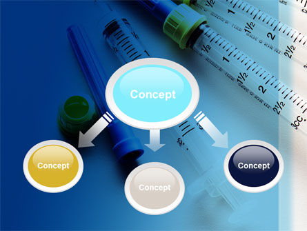 Syringes PowerPoint Template, Slide 4, 10181, Medical — PoweredTemplate.com