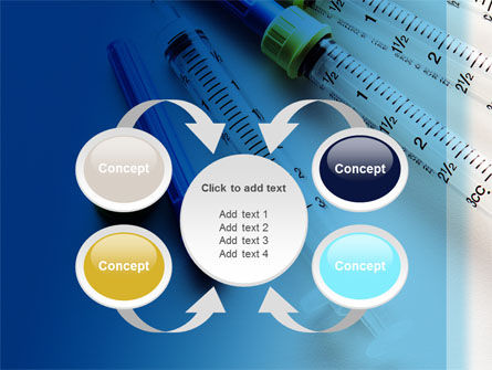 Syringes PowerPoint Template Slide 6