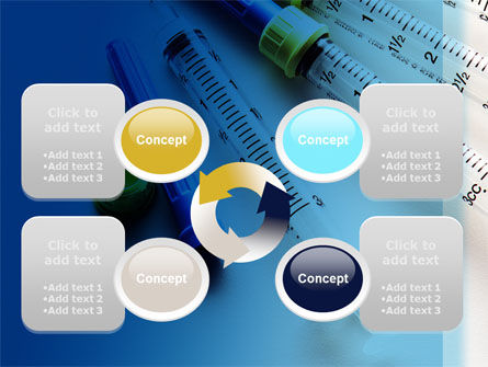 Syringes PowerPoint Template Slide 9