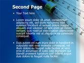 Syringes PowerPoint Template#2