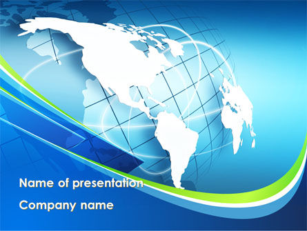 Company Presentation PowerPoint Template, 10183, Global — PoweredTemplate.com