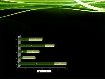 Green on Black PowerPoint Template Slide 11
