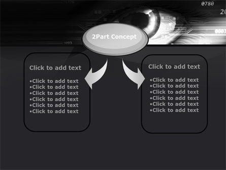 Technological View PowerPoint Template Slide 4