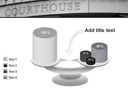Courthouse PowerPoint Template Slide 10