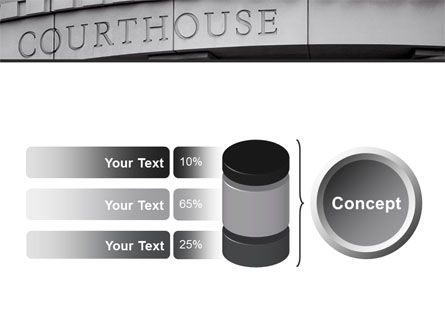 Courthouse PowerPoint Template Slide 11