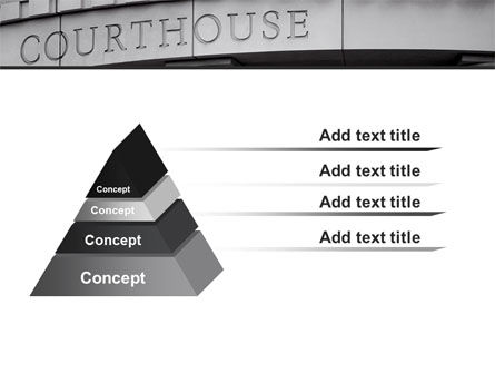 Courthouse PowerPoint Template Slide 12