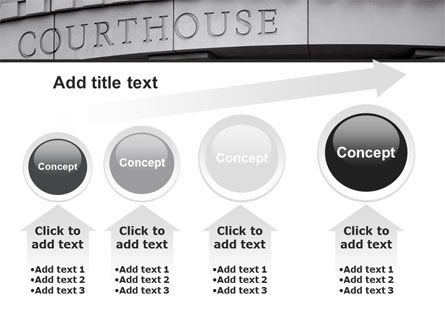 Courthouse PowerPoint Template Slide 13