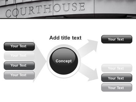 Courthouse PowerPoint Template Slide 14
