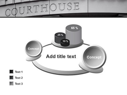 Courthouse PowerPoint Template Slide 16