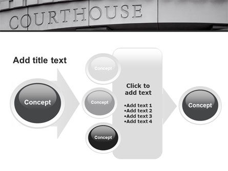 Courthouse PowerPoint Template Slide 17