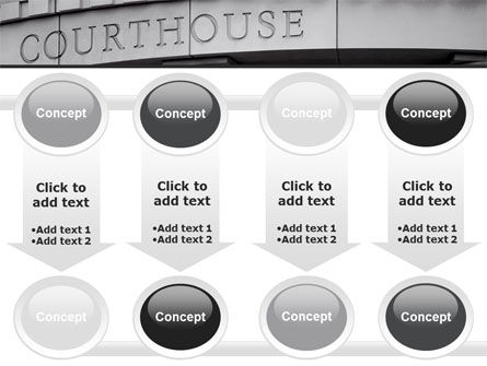 Courthouse PowerPoint Template Slide 18