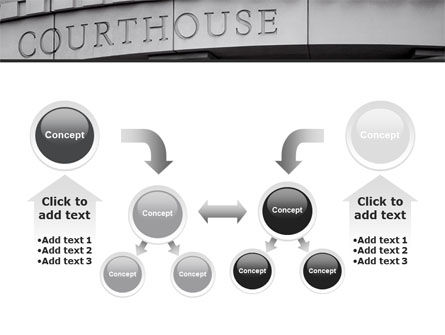 Courthouse PowerPoint Template Slide 19