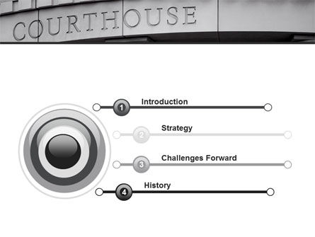Courthouse PowerPoint Template Slide 3
