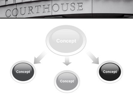 Courthouse PowerPoint Template, Slide 4, 10187, Legal — PoweredTemplate.com