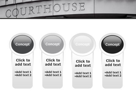 Courthouse PowerPoint Template Slide 5